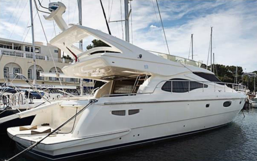 SOLD: Ferretti 590 2004 model