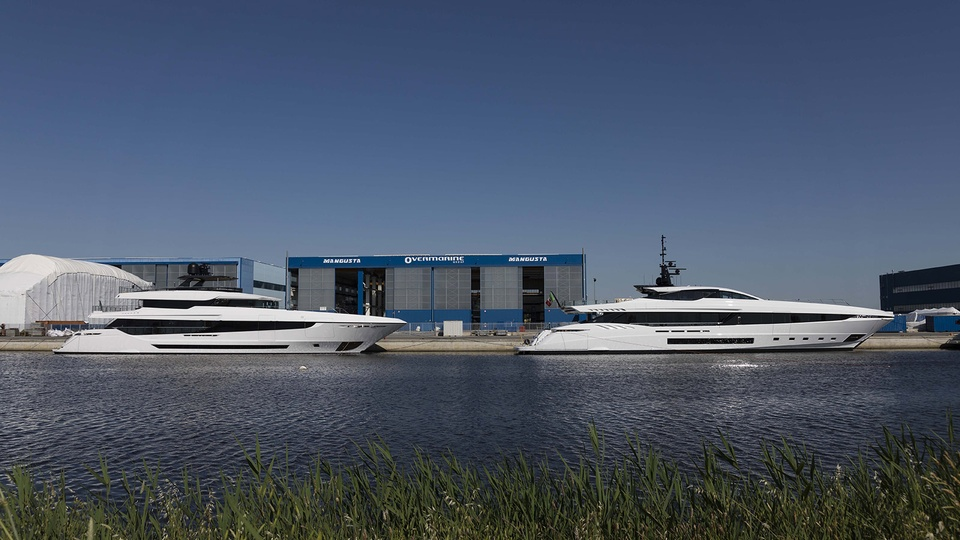 Overmarine launches 43m and 45m superyachts