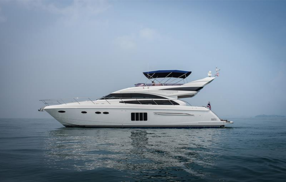 PRINCESS 64 M/Y  AYANIS is sold