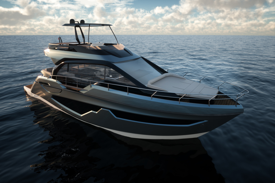New sensational flybridge SESSA MARINE FX5