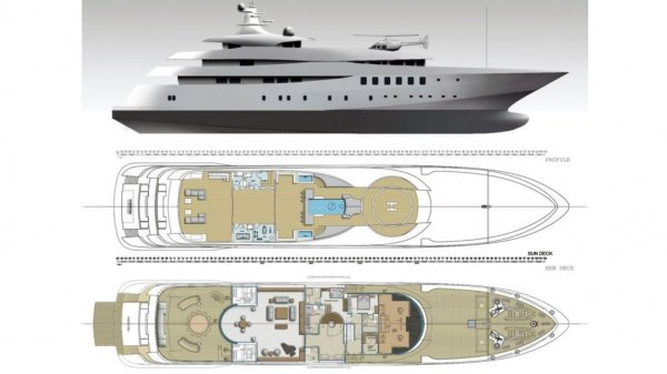 Custom Built Steel Motoryacht